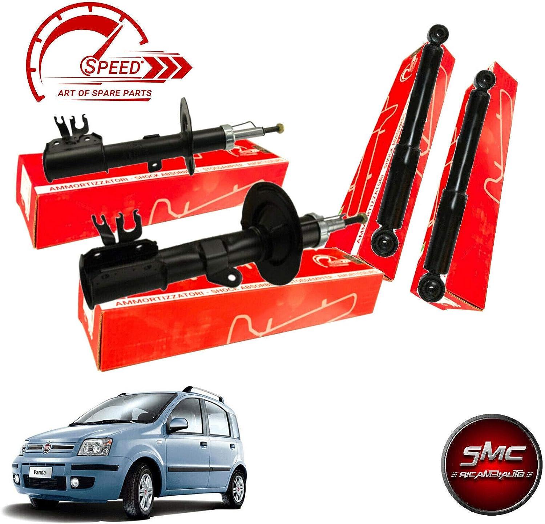 Kit 4 Ammortizzatori Speed Anteriori e Posteriori Fiat Panda 169 II 2003-2012