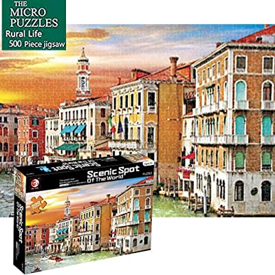Adults Reduce Pressure Puzzle Game Interesting Toys Home 500 Piece Puzzles: Toys & Games