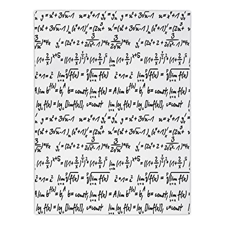 Polyester Rectangular Tableclothmathematics Classroom Decoralgebra
