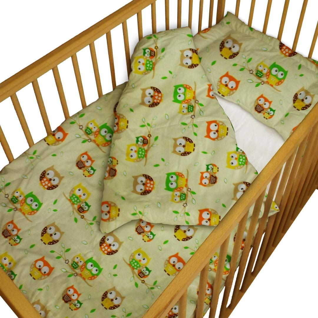 47x35 Suitable for Baby Many Designs 120x90 cm cot Bed cot Bed 2 Piece Set Soft Fabric Made in UK Duvet Cover /& Pillow case 100/% Cotton