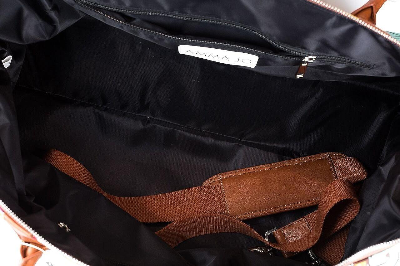 AMMA JO Bohemia Duffel Weekender Bag