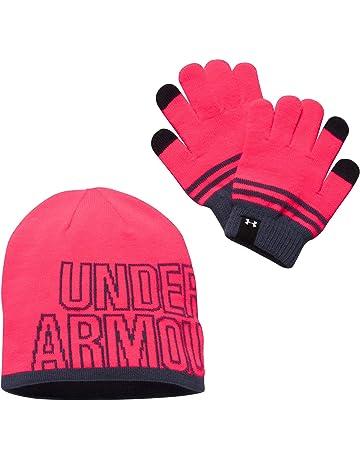 8fc30c19f45 Under Armour Girls Beanie Glove Combo