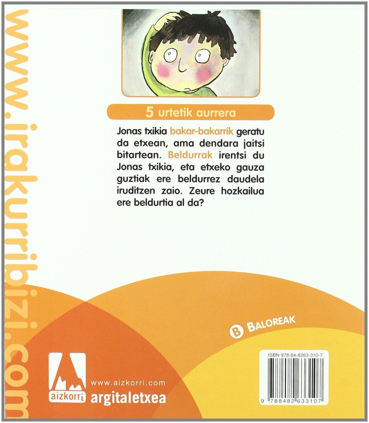 Jonas eta hozkailu beldurtia (Irakurri, bizi): Amazon.es: Igerabide Juan Cruz, Valverde Mikel: Libros