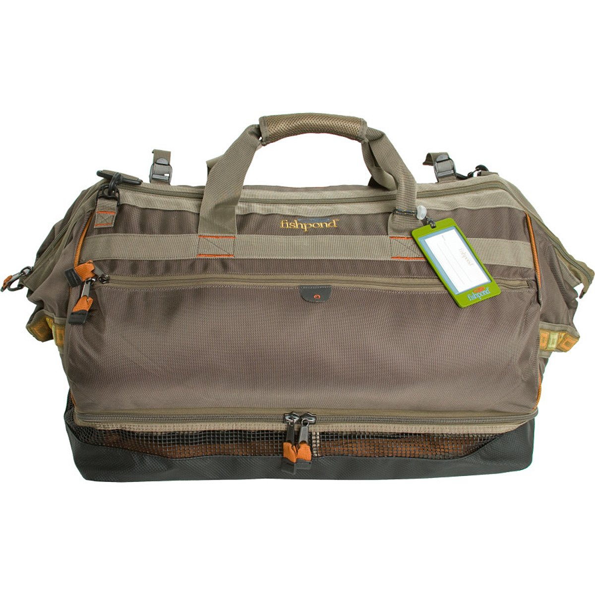 Fishpond Cimarron 24.5 Wader/Duffel Bag and Backpack Stone by FishPond   B004CUD0Z6