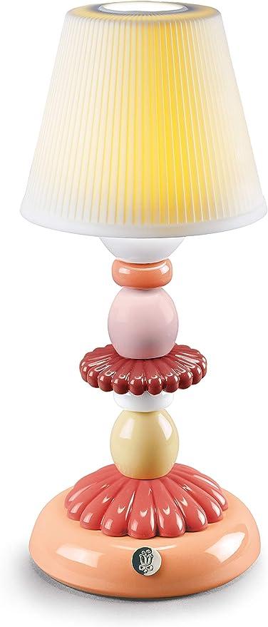 LLADRÓ Lámpara De Mesa Firefly Lotus. Coral. Lámpara de Porcelana.: Amazon.es: Juguetes y juegos