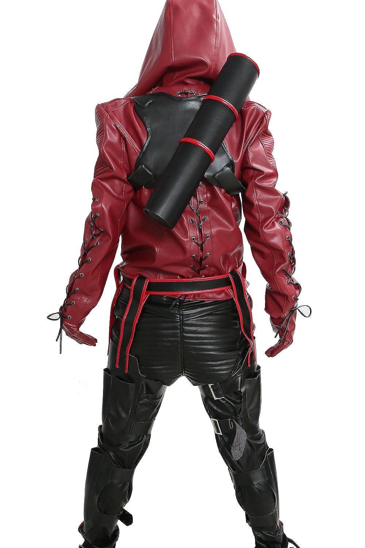 Amazon.com: Disfraz de flecha roja de Xcostume con flecha ...