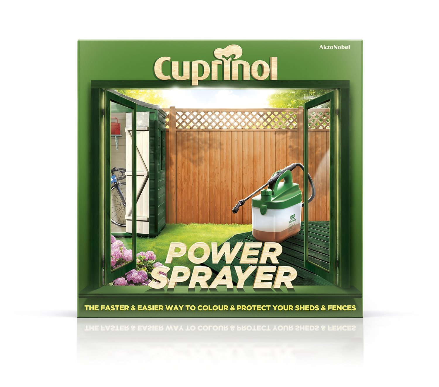 Cuprinol FDPS Fence and Decking Power Sprayer Toolbank 6033808