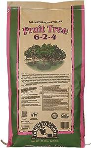 Down to Earth Organic Fruit Tree Fertilizer Mix 6-2-4, 50 lb