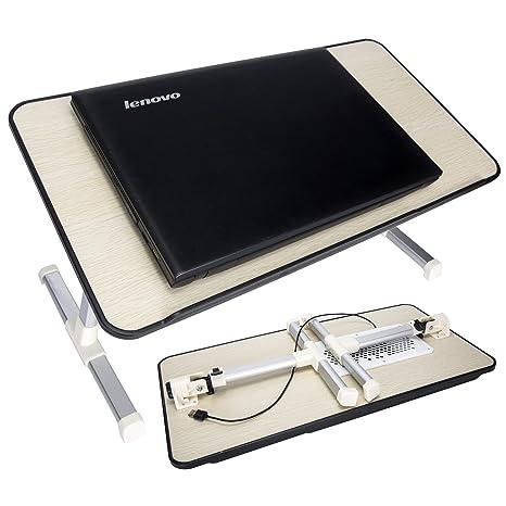 [Tamaño grande] escritorio ajustable para portátil, ventilador de CPU para ordenador portátil,