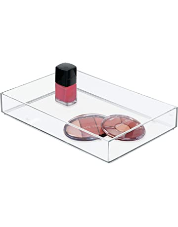 InterDesign Forma Ultra Portarrollos de Papel higiénico de pie, dispensador de Papel de baño Rectangular