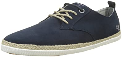 London Maui Laces Suede, Espadrilles Homme, Gris (Grey), 46 EUPepe Jeans London