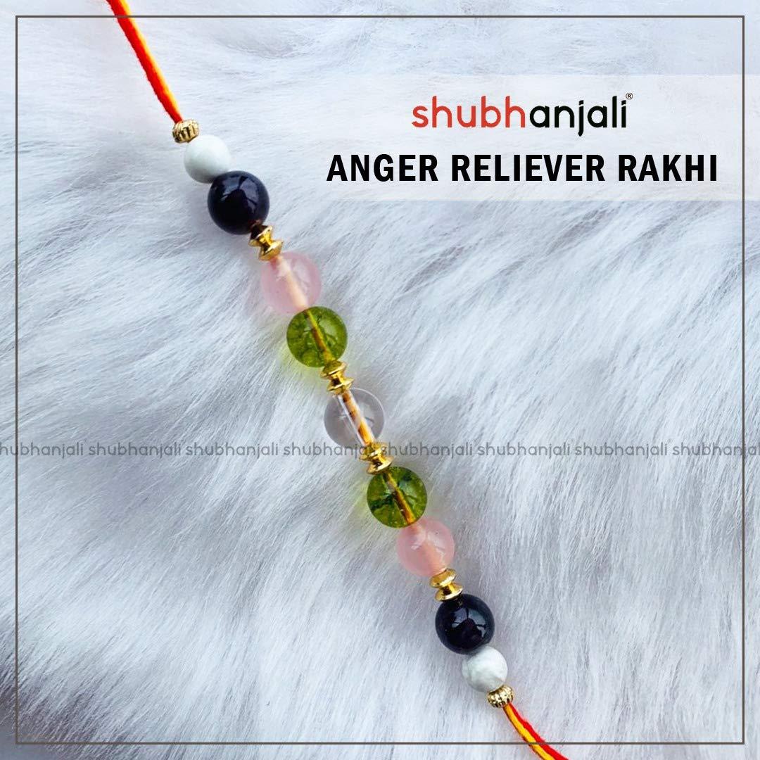 Shubhanjali Customized Anger Reliever Rakhi /Bracelet