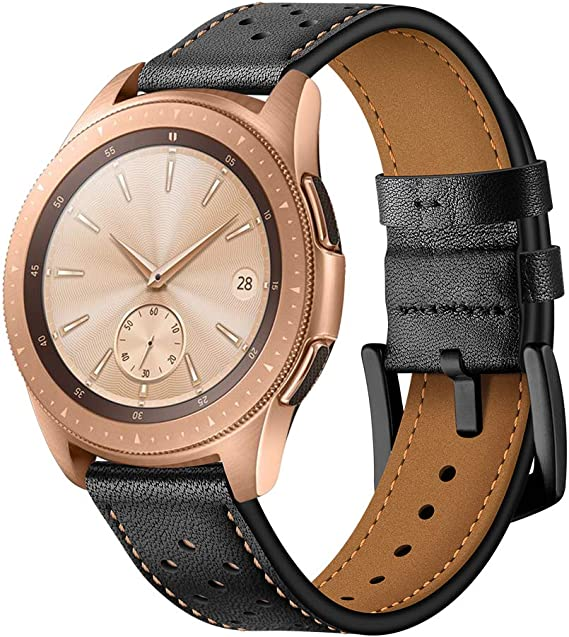 OXWALLEN Quick Release Leather Watch Band Top Grain Leather Watch Strap for Men and Women Choice of Width 18mm, 20mm, 22mm Watch Band, Please add to ...