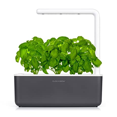 Superb Click U0026 Grow Smart Garden 3 | Indoor Fresh Herb Growing Kit With 3 Basil  Cartridges