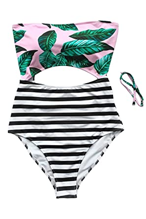 Seventeen rainbow striped bikini code word