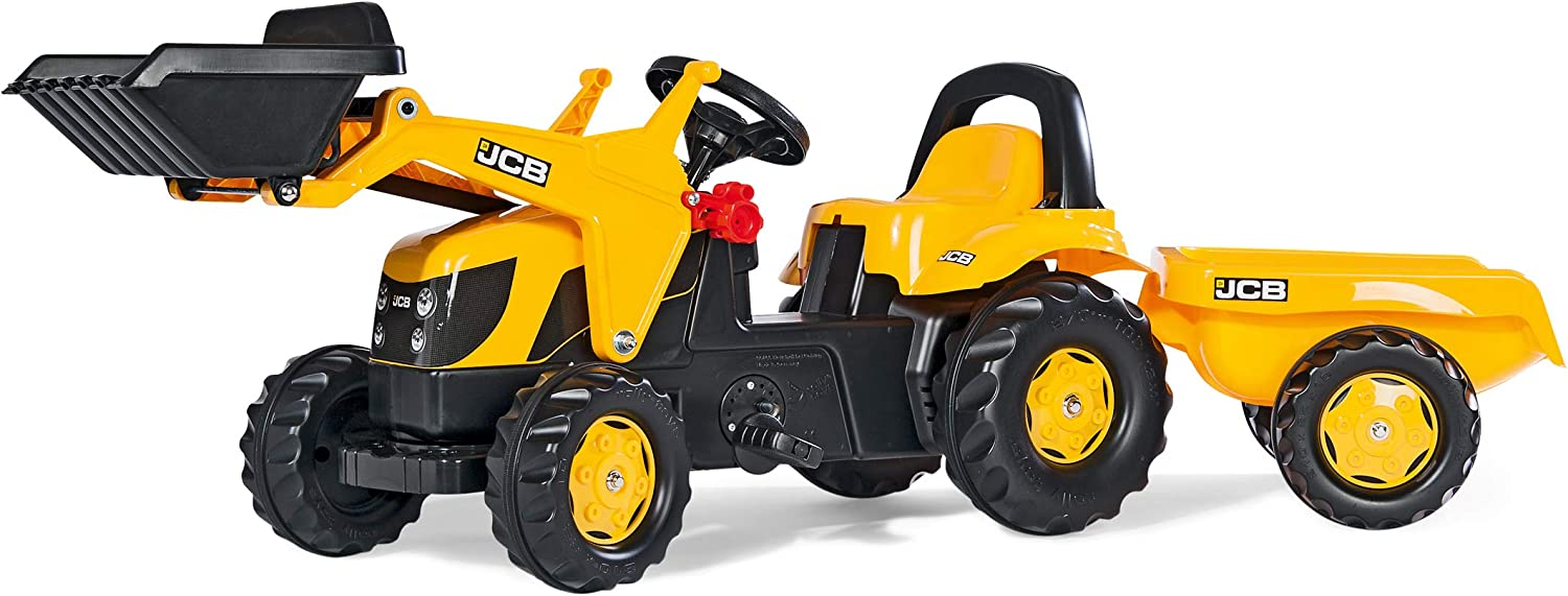 Amazon Com Rolly Toys Jcb Kid X Front Loader Tractor Yellow