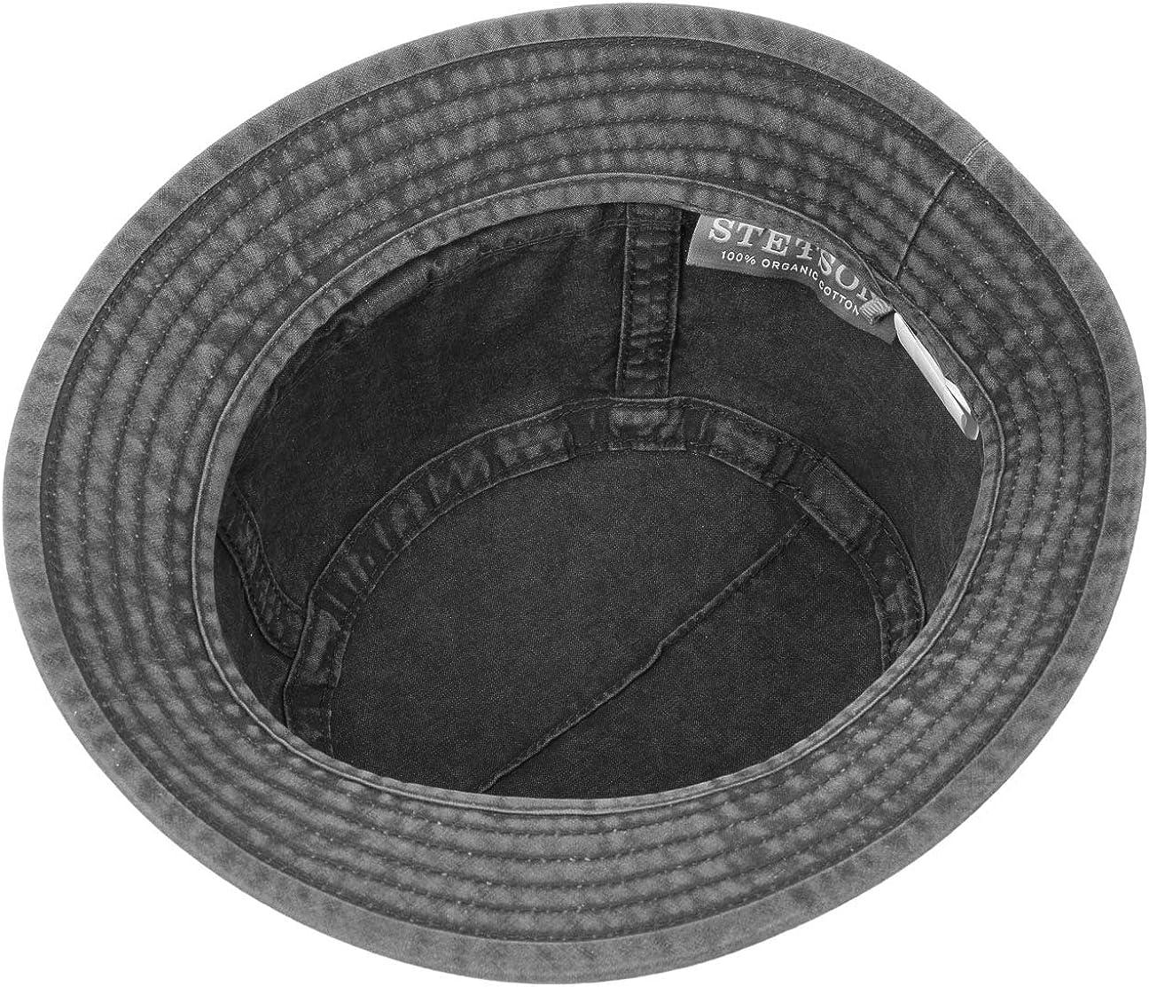 Stetson Gander Cloth Trilby Men Floppy hat Cotton Spring-Summer