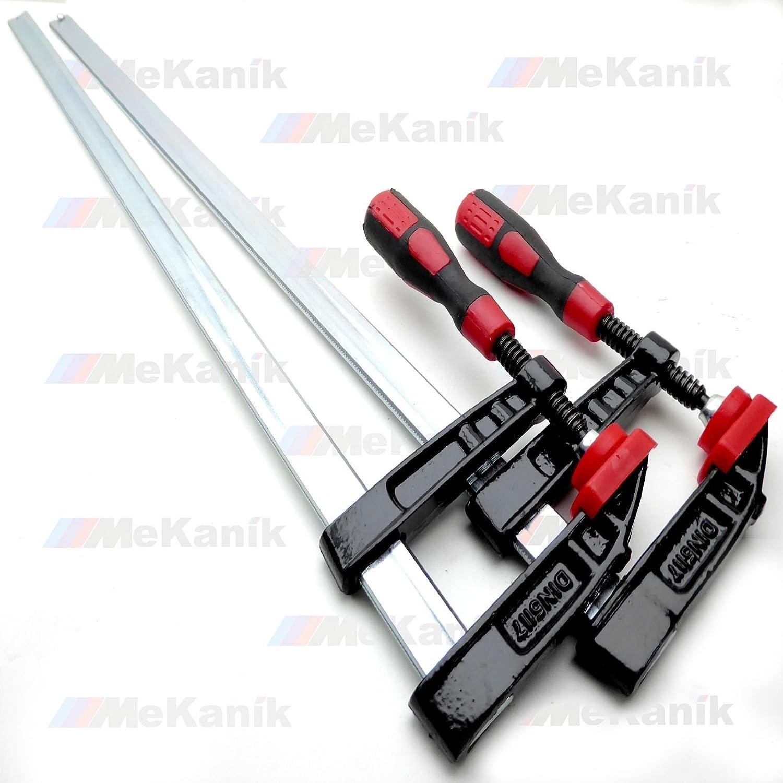 Barre de fixation F Serre-joint trè s ré sistant 300 mm x 50 mm (30, 5 cm) Long diapositive rapide X 2 pinces 5cm) Long diapositive rapide X 2pinces Mekanik