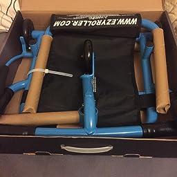 Amazon.com: Ezy Roller Ultimate Riding Machine - Blue: Toys ...