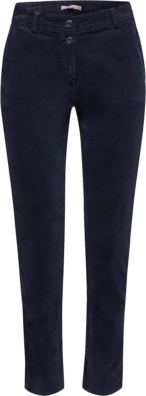 edc by Esprit Women's Trouser Blue (Navy 400)
