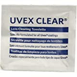 Uvex S468 Clear Towelettes, 100/box