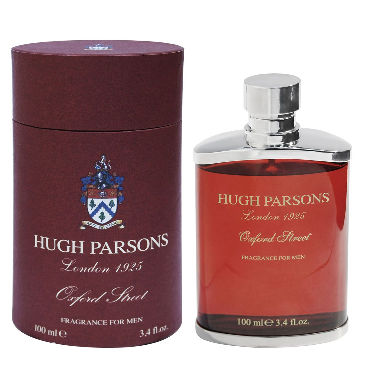 Amazon.com : Hugh Parsons Oxford Street Eau De Parfum Spray for Men, 3.4 Ounce : Beauty