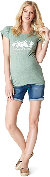 Noppies Jeans Short OTB Slim Mila Medium Aged Pantaloncini Premaman Donna