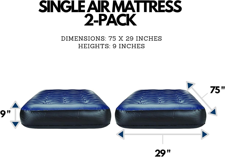 Amazon.com: Outbound - Colchón de aire doble portátil ...