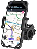 TruActive Unbreakable Bike Phone Mount Holder, Motorcycle Phone Mount, Cell Phone Holder for Bike - Universal, Bike…