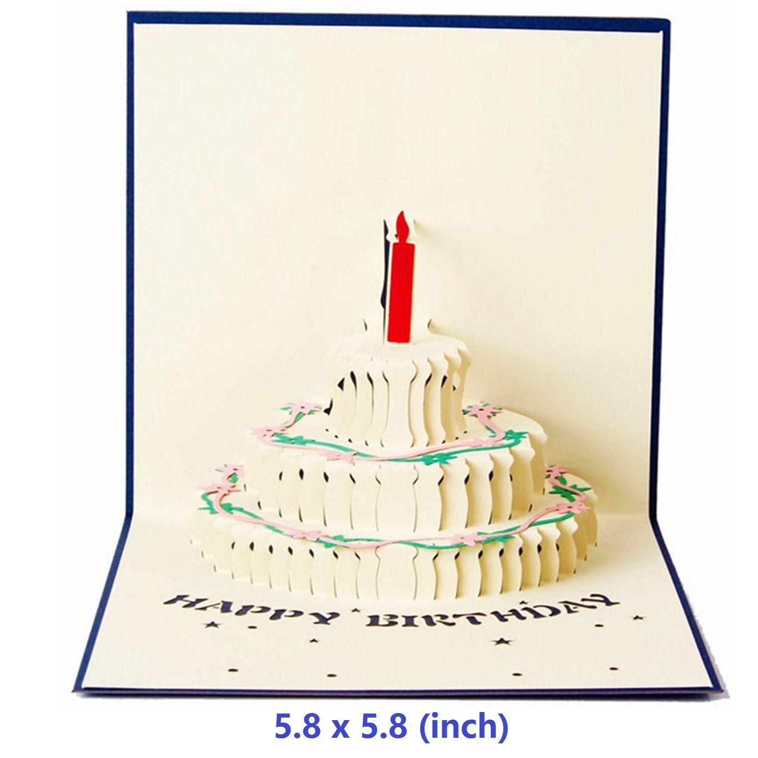 Amazon Com Nacodex 3d Birthday Pop Up Card And Envelope Funny