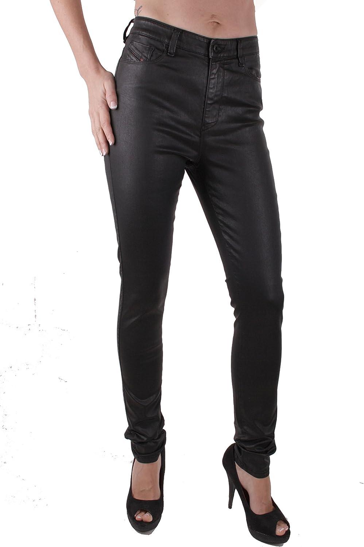 Diesel Mujer Pantalones Vaqueros Ajustados Skinzee-High 0662E Negro