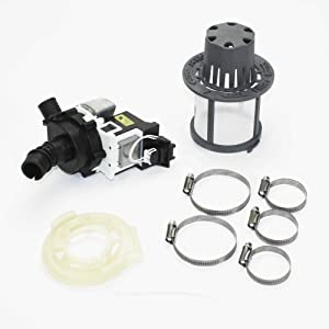 Ge WD35X20878 Dishwasher Drain Pump Genuine Original Equipment Manufacturer (OEM) Part