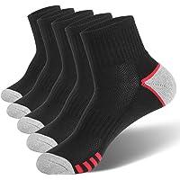 VoJoPi Calcetines Running Hombre, 5 Pares Transpirable Calcetines Deportivos Hombre, Antiampollas Calcetines Hombre…