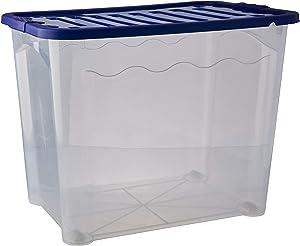 House & Style Vulcano Box Visual XXL, Plastic, Transparent, 60x 40x 45cm, 7Units