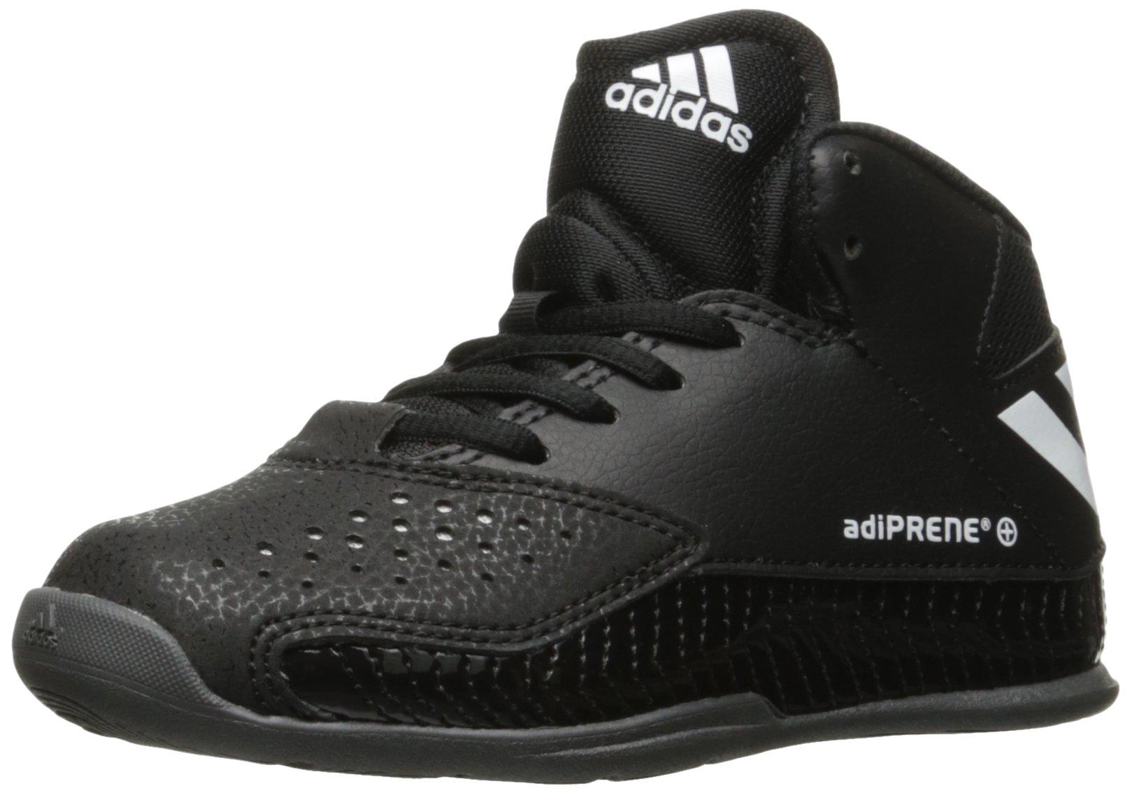 adidas Performance Boys' Nxt Lvl Spd V K Skate Shoe, Black/White/Dark Grey Heather, 3 M US Little Kid by adidas