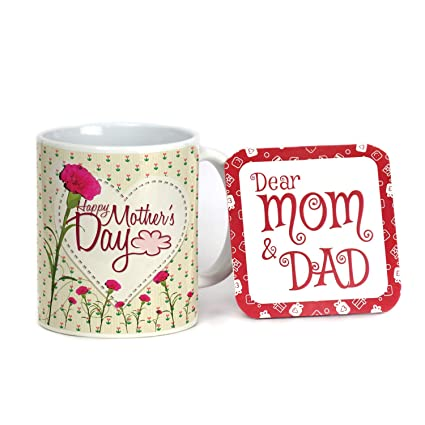 Buy Indigifts Best Gift For Mom Mothers Day Birthday Anniversary Happy Mothers Day Light Green Best Quality Ceramic Mug Everyday Gifting Online At Low Prices In India Amazon In