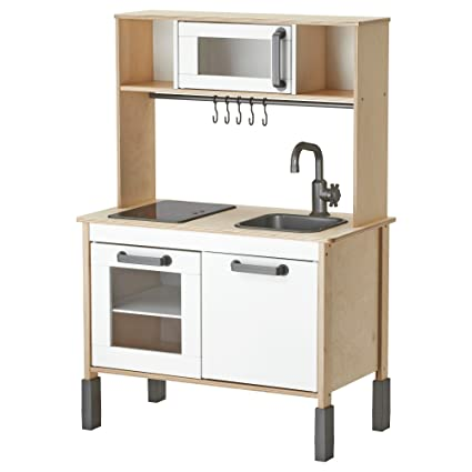 Ikea Duktig Mini Kitchen, Birch Plywood, White