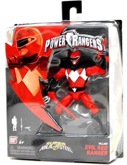 Amazon.com: Power Rangers Super Ninja - Figura de acción de ...