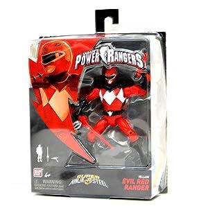 "Power Rangers Super Ninja Steel 5"" Action Figure, Evil Red Ranger"