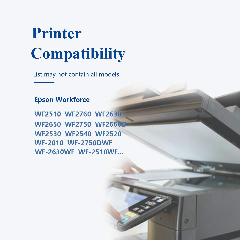 Caidi 16XL - Cartuchos de Tinta para Impresora Epson WF 2510 WF ...