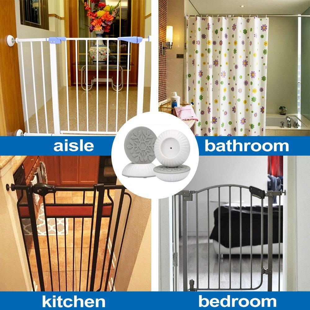 4x Baby Sicherheits Wandschutz Pads für Tür Baby-Druck Kind Hund