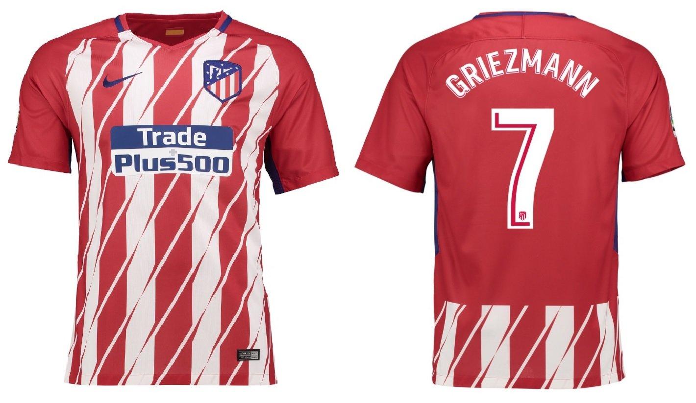 Camiseta para niños Atlético de Madrid 2017 - 2018, equipación de ...