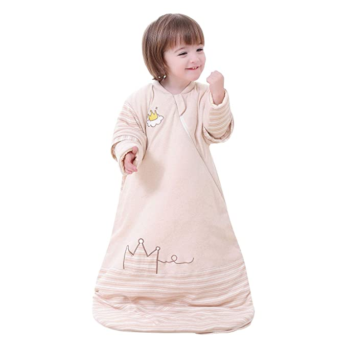 Amazon.com: OuYun - Saco de dormir orgánico para bebé, otoño ...