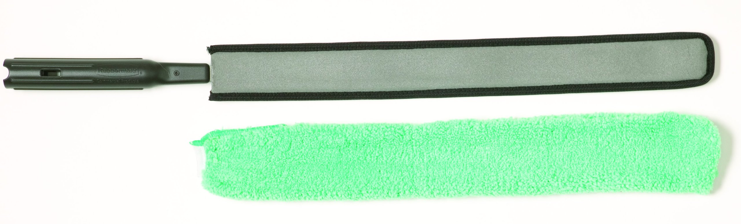 Rubbermaid Commercial FGQ85200WH00 Executive Series HYGEN High-Performance Flexible Microfiber Duster and Frame, Green