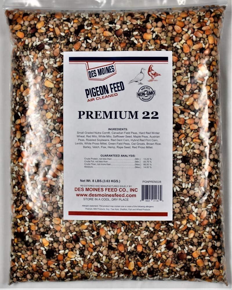 Premium 22 Pigeon Mix (13.25%) 8 lbs