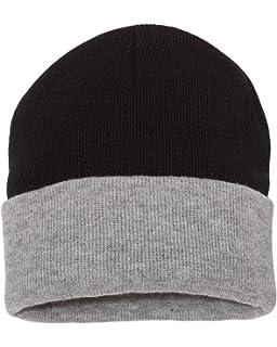 Amazon.com  Sportsman 12  Solid Knit Beanie 1dad98acaa0a