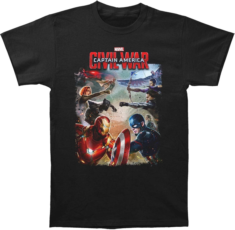 Captain america - Camiseta - Manga corta - Hombre: Amazon.es: Ropa y accesorios