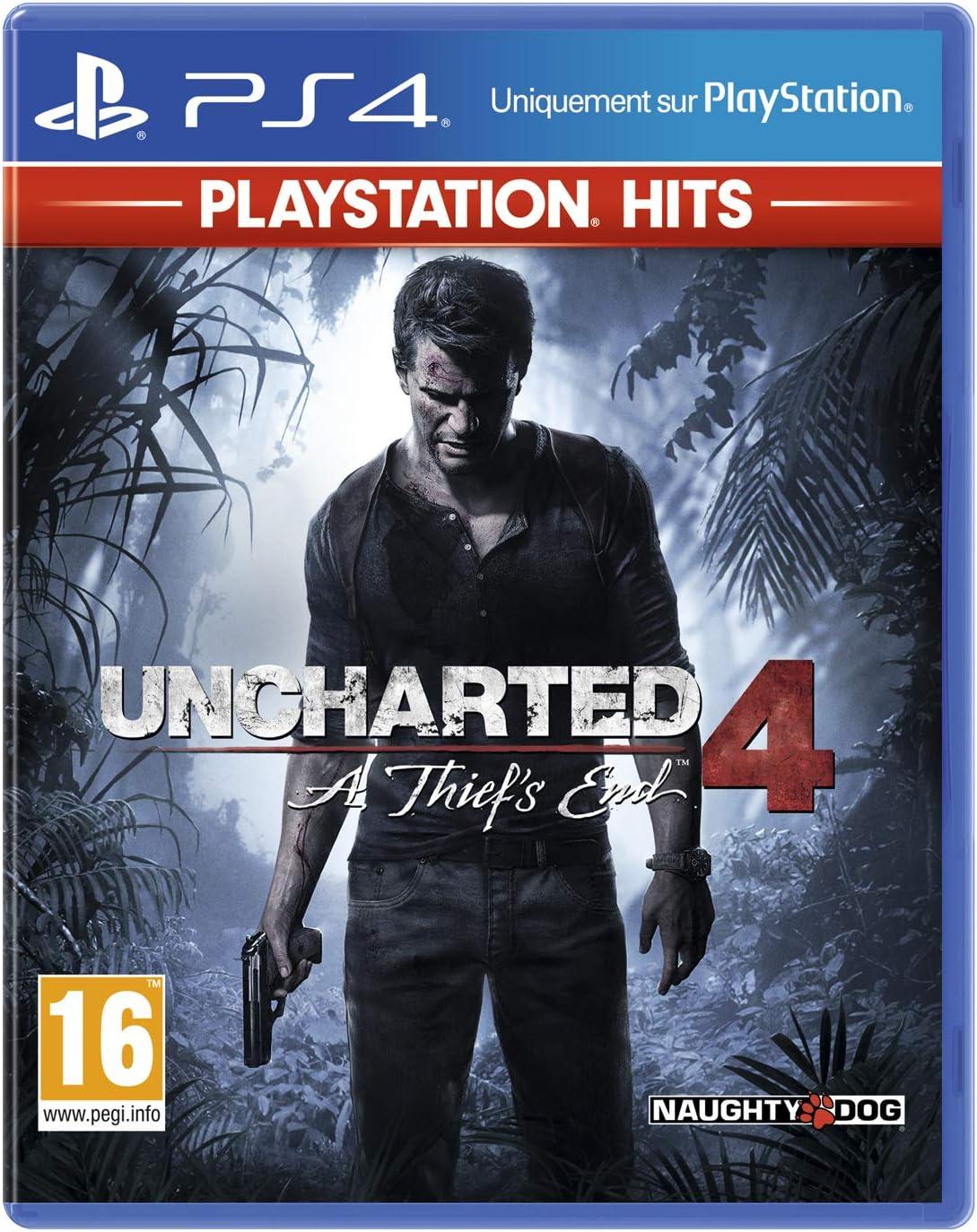 Uncharted 4 sur PS4 en promotion
