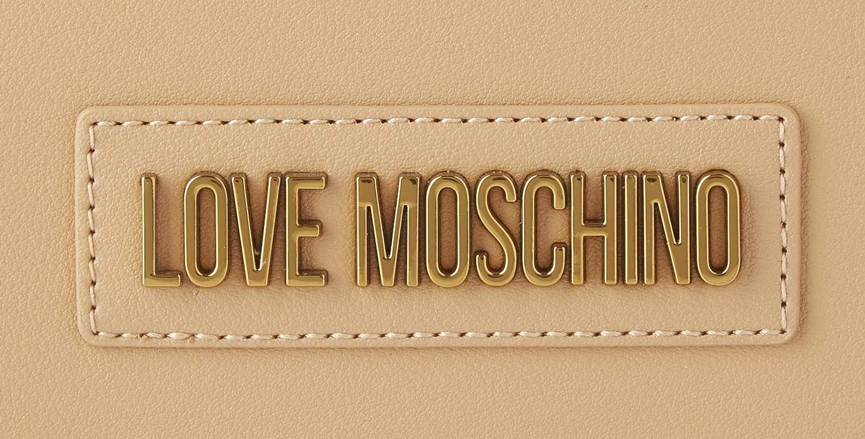 Love Moschino dam Jc4260pp0a kurirväska, svart, 10 x 18 x 27,5 centimeter Brown (Camel Pu)
