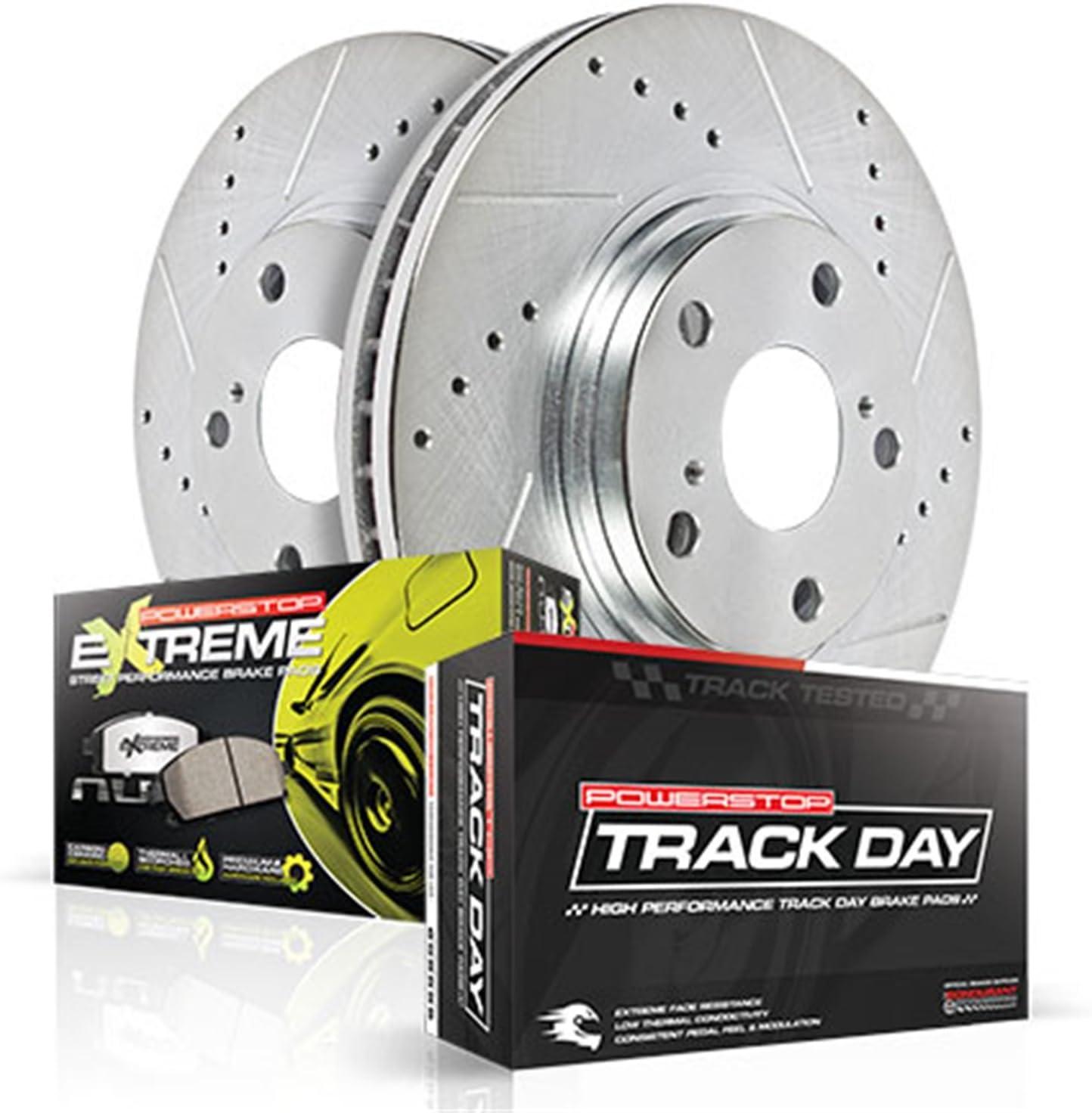 Power Stop TDPK772 Track Day Plus Brake Kit